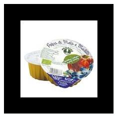 Piure Bio de Fructe fara Zahar - Mere si Afine la Cutie Probios 100gr Cod: 8018699006687 - Piure copii
