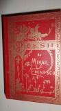 EMINESCU = POEZII ( REEDITAREA EDITIEI 1884 ) AN 1992/307PAGINI
