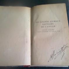 LES GRANDS ANIMAUX SAUVAGES DE L'ANNAM - FERNAND MILLET - Carte veche