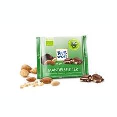 Ciocolata Bio cu Bucati de Migdale 23% si Cacao Pronat 65gr Cod: bg185240 - Dulciuri