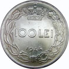 ROMANIA, 100 lei 1944, XF~aUNC * cod 42.3 - Moneda Romania