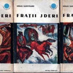 Fraţii Jderi de Mihail Sadoveanu (3 vol.) - Roman istoric