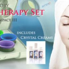Set 7 lentile color therapy Bioptron, 3 geluri, nou, sigilat