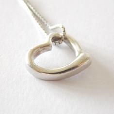 """Lantisor argint cu pandant """"Heart"""" -1573"""
