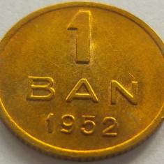 Moneda 1 Ban - ROMANIA, anul 1952 *cod 2094 a.UNC+ - Moneda Romania