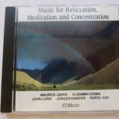 Musik fur relaxation, meditation - Muzica Ambientala Altele, CD