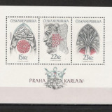 Cehia.1998 Praga in timpul regelui Karl IV-Bl.  KX.104, Nestampilat