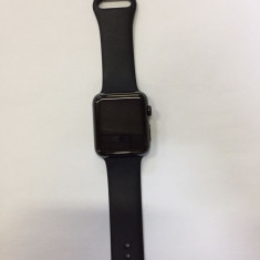 Apple Watch 42mm Stainles Steel Black Sport Bracelet - Smartwatch