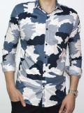 Camasa - camasa slim fit camasa army camasa barbat cod 104