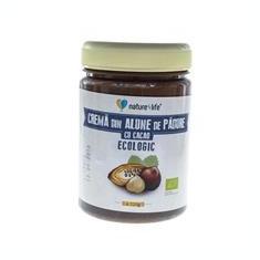 Crema din Alune de Padure cu cacao Ecologica N4L Evergreen 320gr Cod: 6426309000543 - Conserve