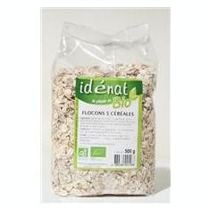 Fulgi din 5 Cereale Bio Idenat 500gr Cod: 1561 - Cereala