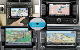 DVD CD SD UPDATE  GPS NAVIGATIE VW SKODA RNS 310,RNS 315,RNS 510 HARTI GPS