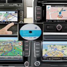 DVD CD SD UPDATE GPS NAVIGATIE VW SKODA RNS 310, RNS 315, RNS 510 HARTI GPS - Software GPS