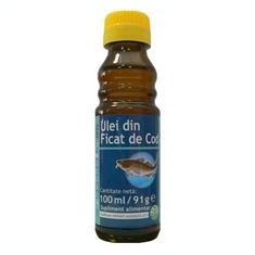 Ulei Ficat Cod Herbavit 100ml Cod: 27528