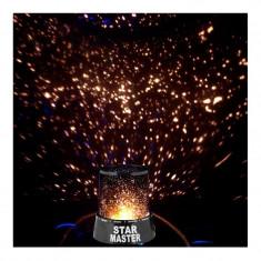 Lampa de veghe Star Master, proiector LED stele - Lampa veghe copii Altele, Altele