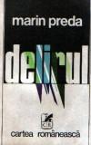 Delirul de Marin Preda - prima ediţie !