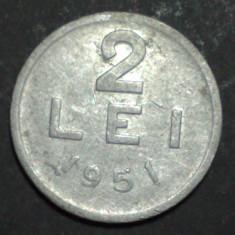 2 lei 1951 7 - Moneda Romania