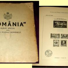1939 Primul Album filatelic romanesc girat de George Matheescu Sinaia