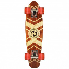 "Cruiser Kryptonics Wood Torpedo Tribal Roots 22""/56cm - Skateboard"