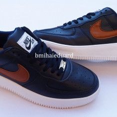ADIDASI NIKE AIR FORCE 1 - Adidasi barbati Nike, Marime: 44, Culoare: Din imagine, Piele sintetica