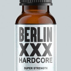 BERLIN XXX HARDCORE 25ML  , POPPERS,RUSH , AROMA CAMERA SIGILAT,ORIGINAL