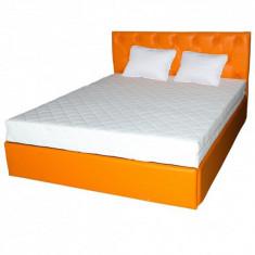 Set saltea Mercur Comfort Flex Plus 160x200 cu 2 perne microfibra 50x70