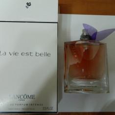 PARFUM TESTER LANCOME LA VIE EST BELLE INTENSE -- 75 ML -SUPER PRET! - Parfum femeie Lancome, Apa de parfum