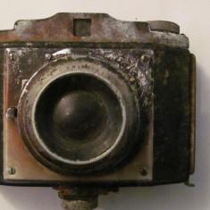 PVM - Aparat foto vechi film ? Gold trecut prin foc Germania / colectie, decor