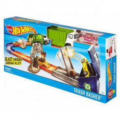 Jucarie Pista Hot Wheels Trash Basher DJF05 Mattel - Masinuta