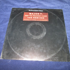 Major T. - Keep The Frequency Clear _ vinyl, 12