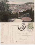 Brasov, Kronstadt   - vedere generala,  rara, Circulata, Printata