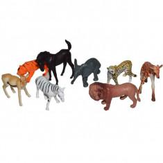Set 8 Animale salbatice mici - Figurina Animale