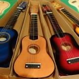 Chitara medie pentru copii de5-8 ani diverse culori