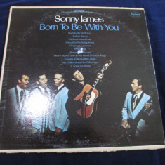 Sonny James - Born To Be With You _ vinyl, LP, Capitol(SUA) - Muzica Country capitol records, VINIL