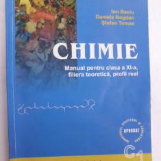 017. Chimie (C1), clasa a XI-a / Ion Baciu , Daniela Bogdan, Stefan Tomas.