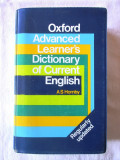 """OXFORD ADVANCED LEARNER'S DICTIONARY OF CURRENT ENGLISH"", A. S. Hornby"