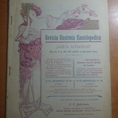 Revista ilustrata enciclopedica 20 iulie 1900- slobozia galbenu, jud. rm sarat