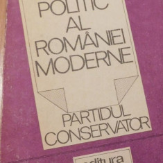 Sistemul politic al Romaniei moderne. Partidul Conservator de Ion Bulei - Carte Politica
