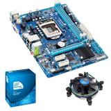 Kit placa baza Gaming Gigabyte+cpu i7-2600 3.40Ghz+!8Gb DDR3+cooler L140 - Placa de Baza Gigabyte, Pentru AMD, Socket: 1155, Contine procesor, MicroATX