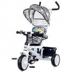 Tricicleta cu copertina si sezut reversibil Chipolino Twister white 2015 - Tricicleta copii