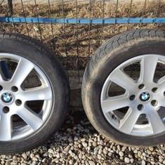 Vând / schimb Jante BMW R 16 ET 20 5 × 120 cu tot cu caucucuri - Anvelope iarna Michelin, Inaltime: 55