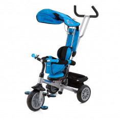 Tricicleta Chipolino Cross Fit blue 2014 - Tricicleta copii