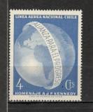 Chile.1964 In memoria presedintelui J.F.Kennedy  KX.117