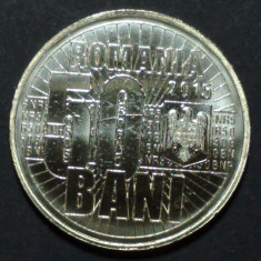 50 bani 2015 UNC - Moneda Romania