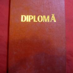 Diploma de Absolvire Universitatea serala Cluj - de Marxism-Leninism 1970 - Diploma/Certificat