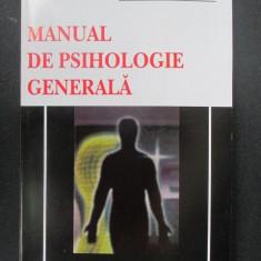 Manual de psihologie generala - Carte Psihologie