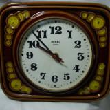 Ceas perete, ceramica glazurata, Sekel-Germany, colectie cadou vintage - Ceas de perete