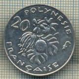 9932 MONEDA - POLYNEZIA FRANCEZA - 20 FRANCS -anul 2007 -starea care se vede, Europa