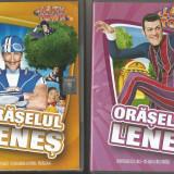 A(02) 2 DVD --Oraselul lenes-film pentru copii - Film Colectie, Romana
