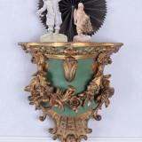 CONSOLA VENETIANA CU DIVERSE DECORATIUNI OAR583